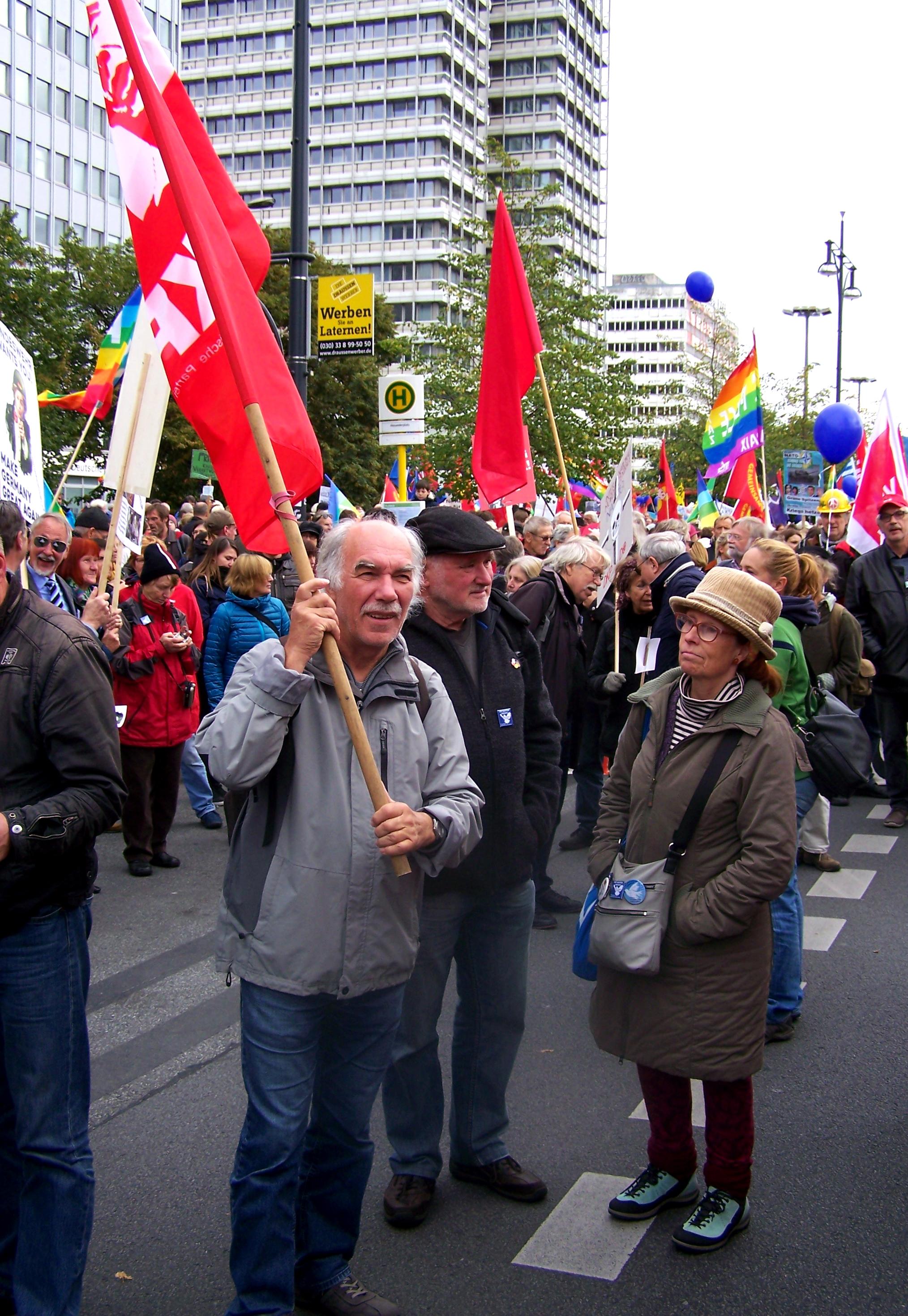 2016 Friedensdemo Berlin