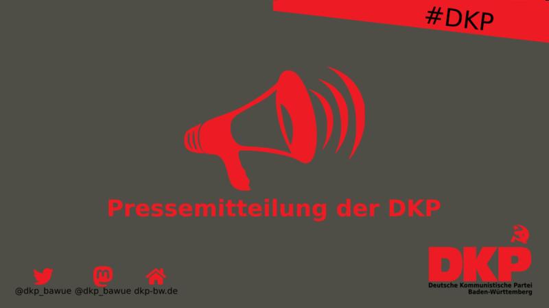 DKP zum Stand der Bildung einer neuen Bundesregierung