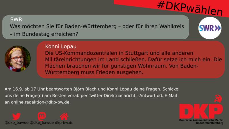 Konni Lopau zu den Herausforderungen in Baden-Württemberg und Stuttgart